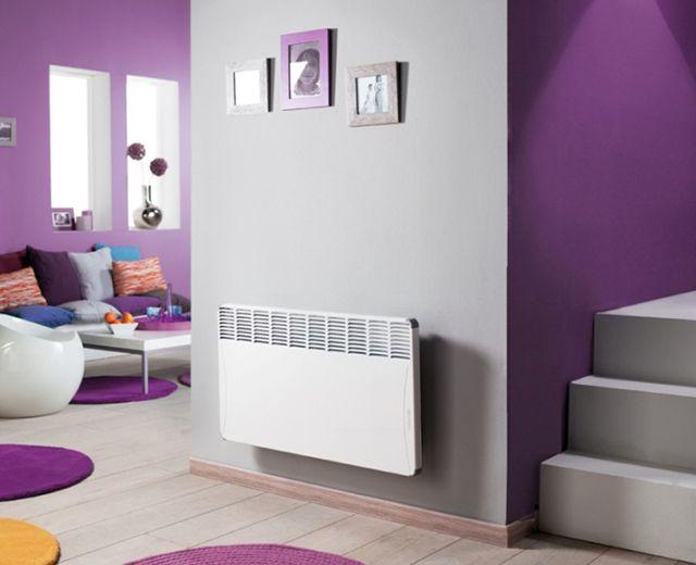Отопление при помощи электрических конвекторов очень легко реализуется