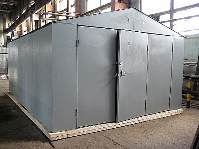 Металлический гараж своими руками сборный купить гараж под сто киеве