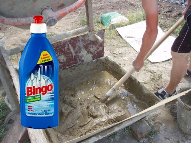 Обычное кухонное моющее средство может стать отменным пластификатором
