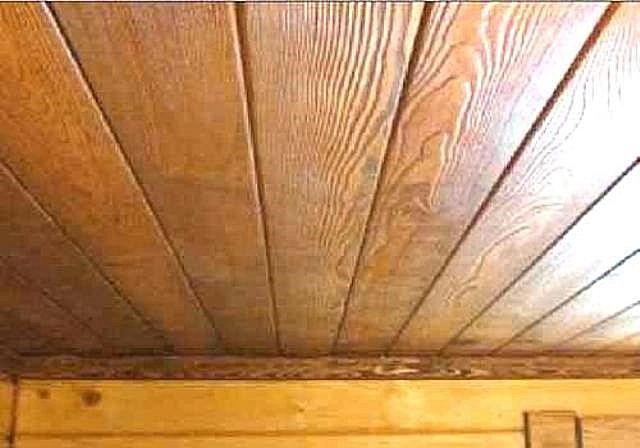 Настильный потолок применяется в небольших по площади помещениях