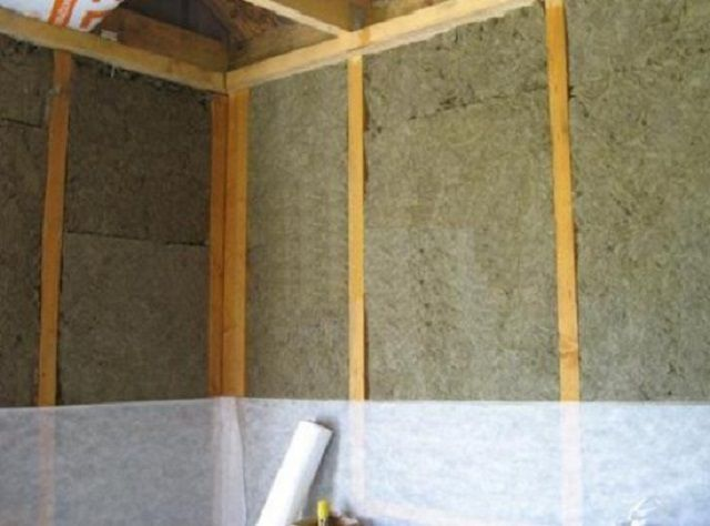 Утепление стен минеральной ватой изнутри