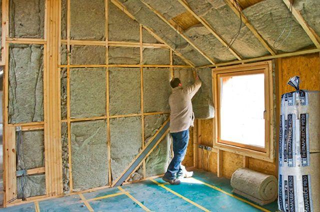 Утепление крыши и чердачного (мансардного) помещения