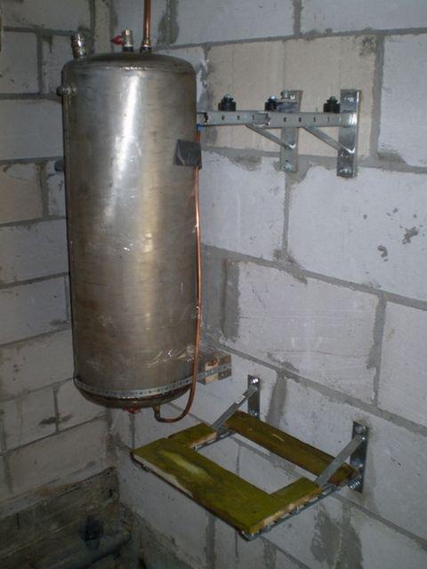 Теплообменник-конденсатор в сборе