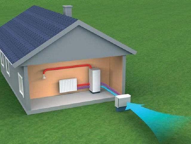 Тепловую энергию можно забирать буквально из воздуха