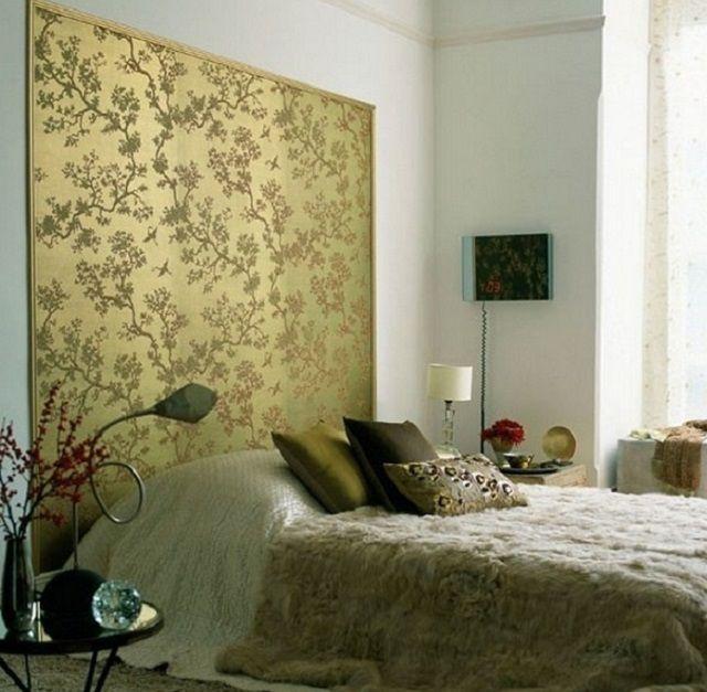 """Нередко интерьер спальни так и просит акцентированного """"пятна"""""""