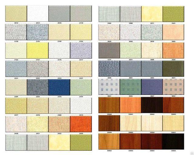 Цветовая палитра - на любой вкус
