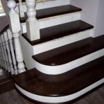 Как оформить бетонную лестницу. Пример