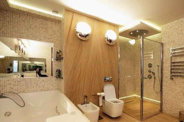 Потолок должен способствовать хорошей освещенности помещения