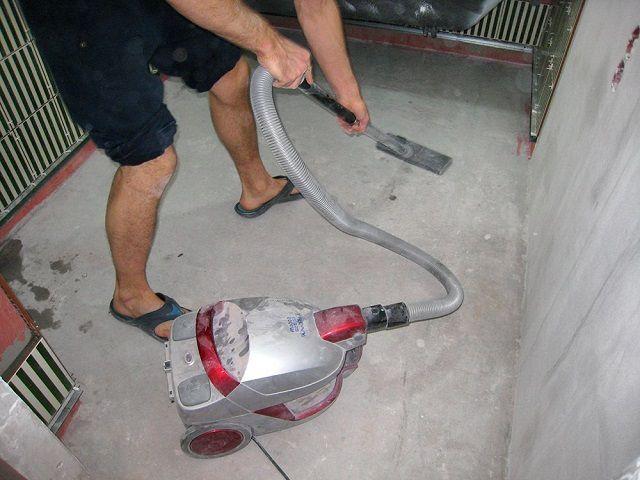 Обязательная очистка поверхности