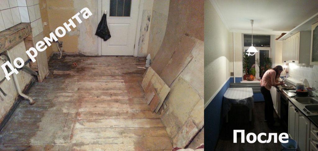 Ремонт на кухне за пять дней своими руками: делаем быстро ремонт кухни фото