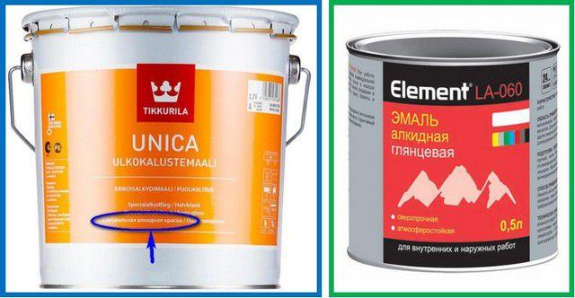 Алкидные краски - тоже не лучший выбор для стен квартиры