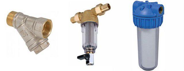 Установка фильтров механической очистки воды продлит жизнь всему сантехническому оборудованию в квартире