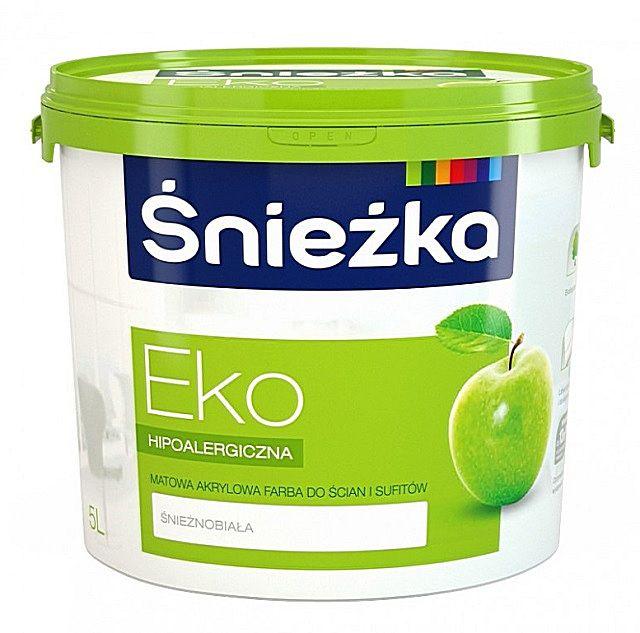 Интерьерная краска «Sniezka - ЕКО»