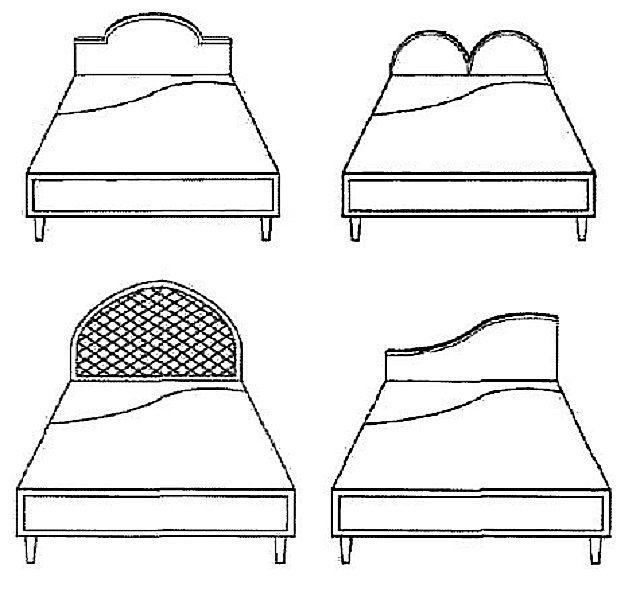 Форма спинки кровати имеет значение!