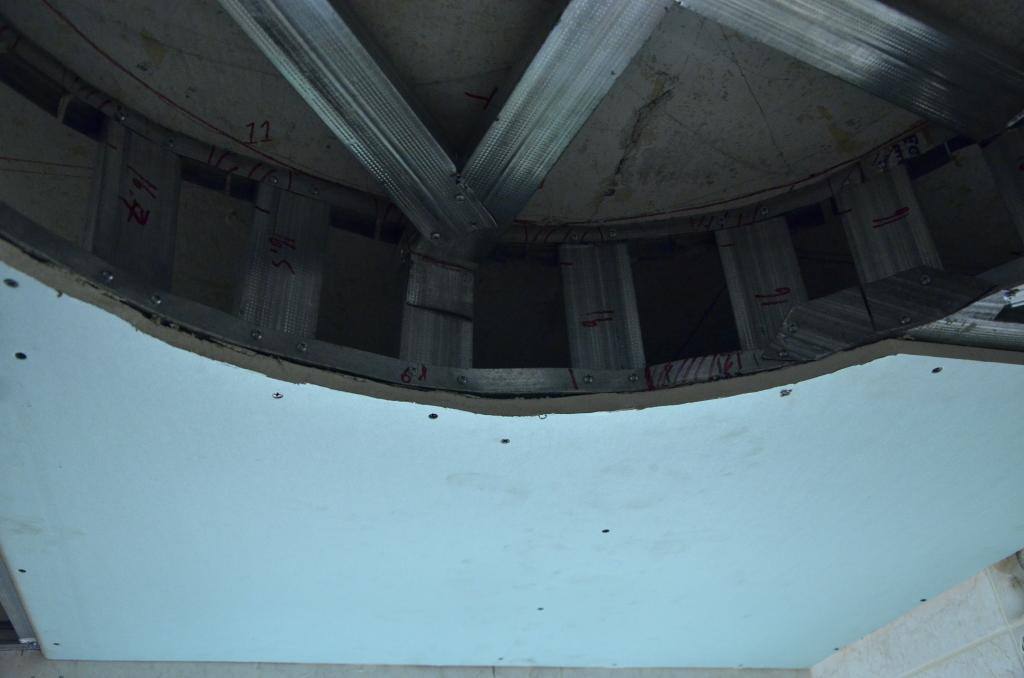 Крепление гипсокартона. Фото