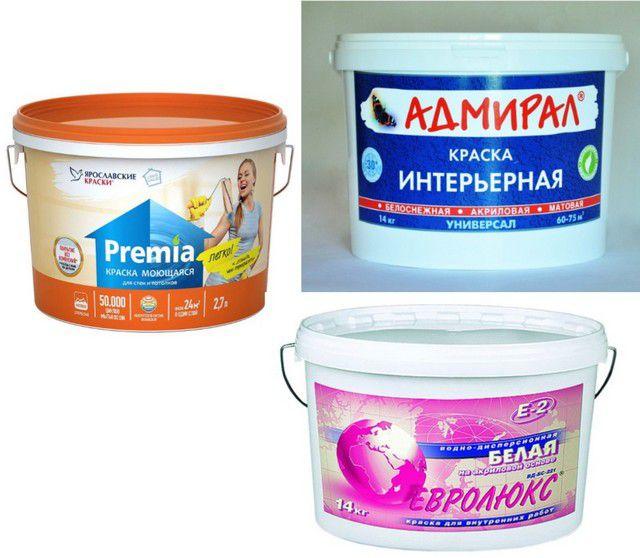 Краски для стен от российских производителей - с каждым годом качество все выше