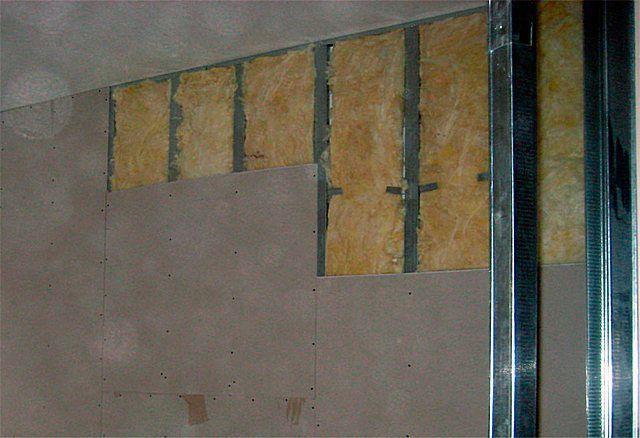 Утепление стен изнутри минватой плюс гипсокартон