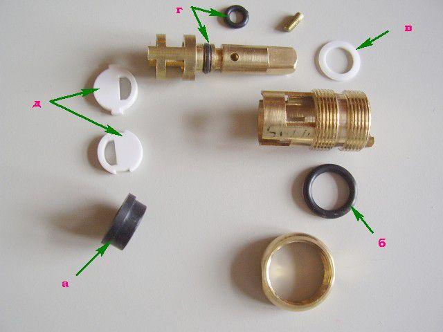 Ремкомплект для восстановления кран-буксы