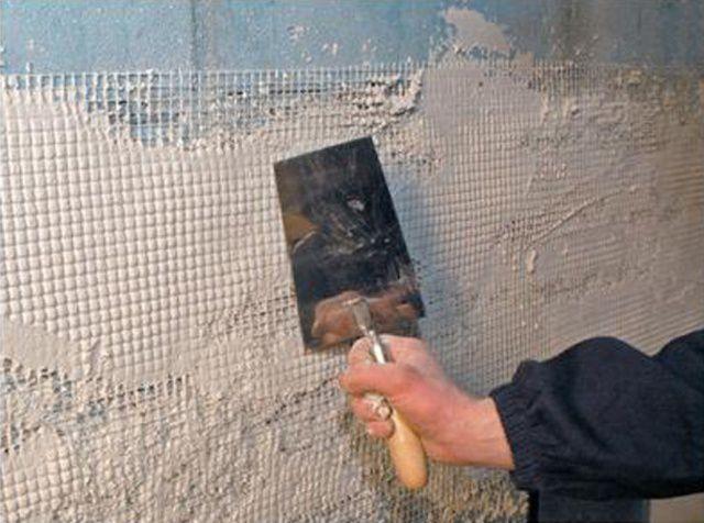 Штукатурка стен из газобетона внутри помещения