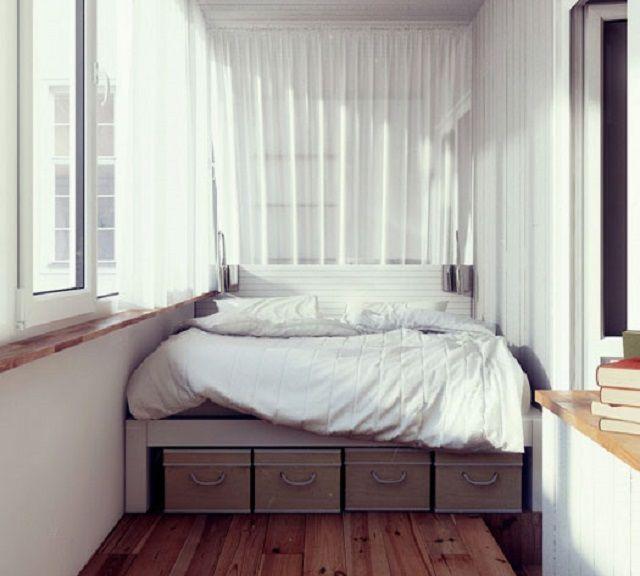Качественно утепленная лоджия сама по себе может стать спальной