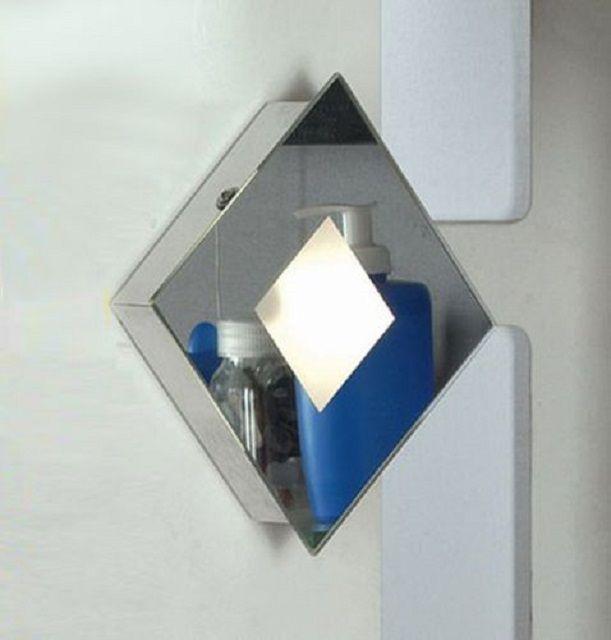 Настенный накладной светильник небольшой толщины