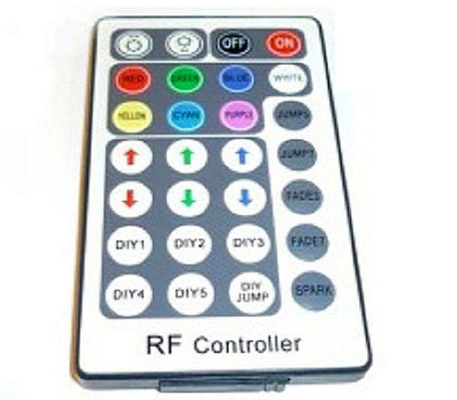 Дистанционный пульт для управления системой освещения с RGB-лентой