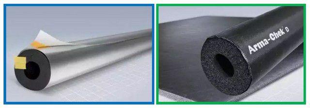 Утеплительные элементы для трубопроводов«Armaflex ACE» с внешним покрытием«ArmaChek»