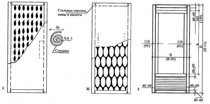 Схемы щитовых дверей - 3