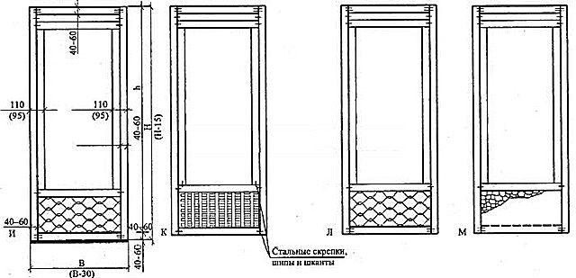 Схемы щитовых дверей - 4