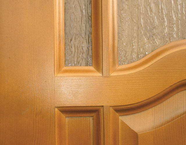 Филенки могут иметь различную конфигурацию или заменяться стеклом
