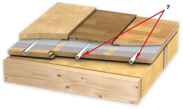 Для установки пластин могут быть отфрезерованы специальные пазы