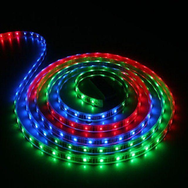 RGB-лента, которая может светиться и белым цветом, и другими оттенками