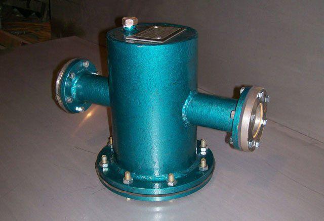 Фильтр грязевик с фланцевым соединением