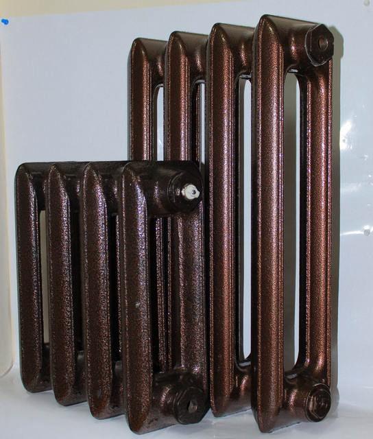 Некоторые производители поставляют батареи с внешним декоративным окрашиванием