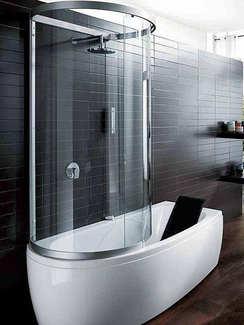 """""""Симбиоз"""" ванны и душевой кабинки"""