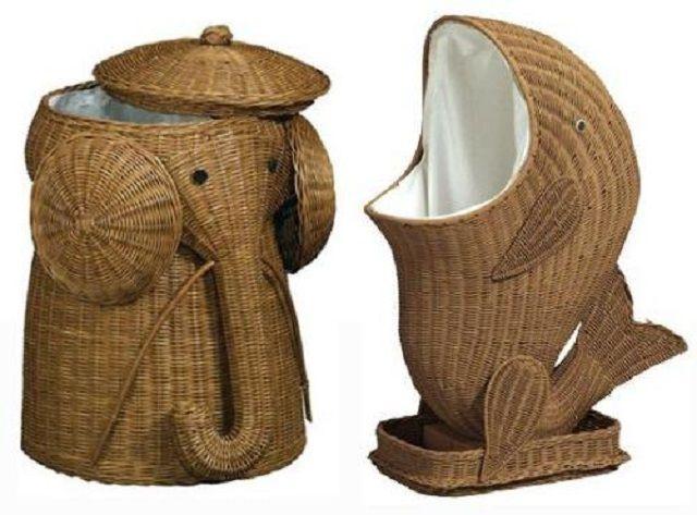 По незнанию даже и не подумаешь, что это - корзины для белья, предназначенного в стирку
