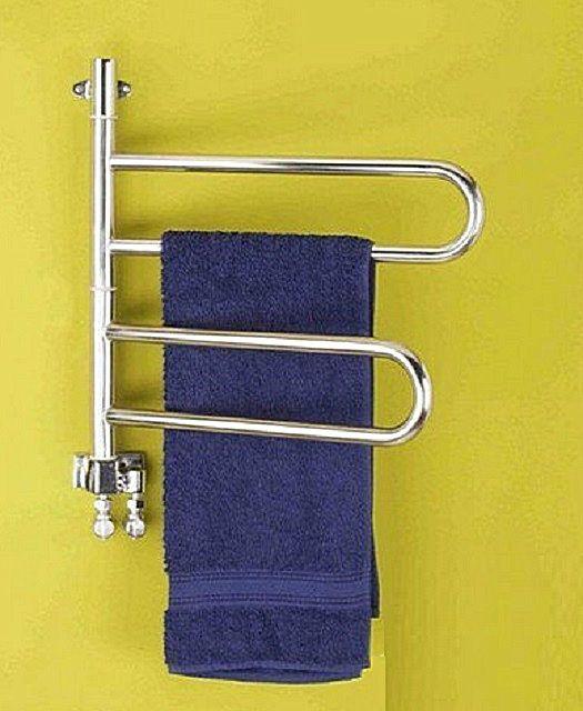 Водяной поворотный полотенцесушитель имеет уязвимые узлы