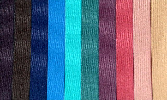 Образцы тканей для натяжных потолков