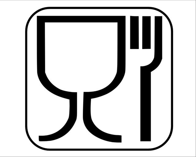 """Этот знак говорит, что для изготовления кувшина использовался """"пищевой"""" пластик"""
