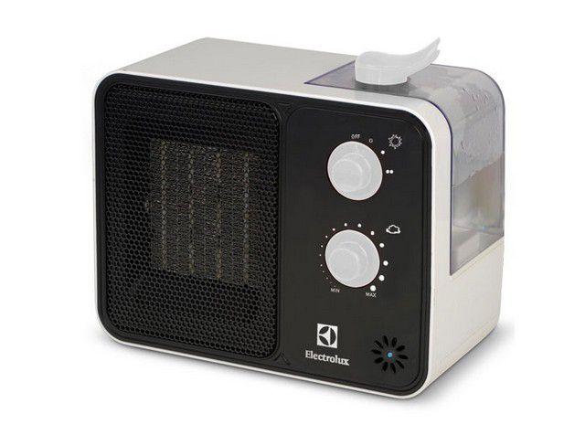 Тепловентилятор со встроенным увлажнителем воздуха