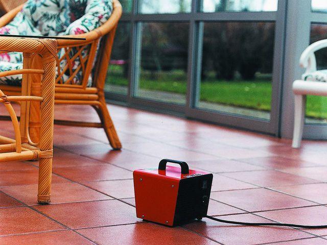 Тепловентилятор позволяет за короткое время нагреть помещение до комфортной температуры