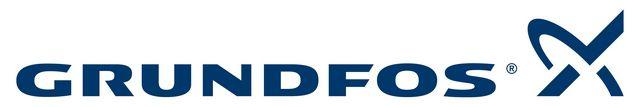 "Фирменный логотип компании ""Grundfos"""