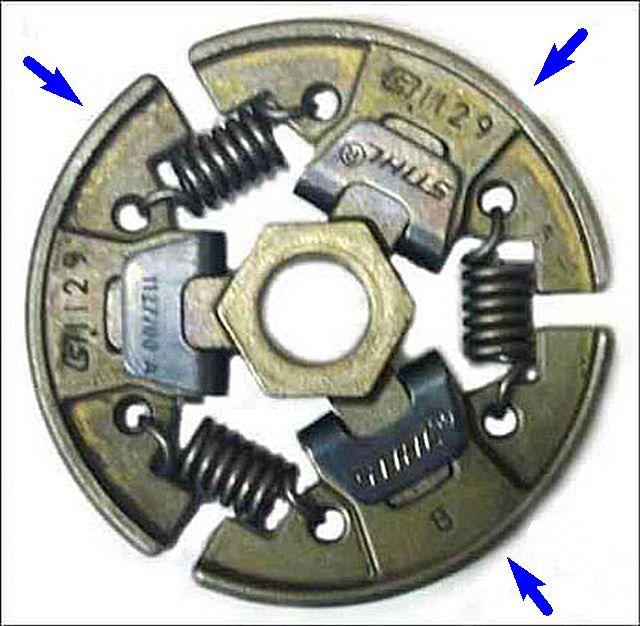Принцип действия центробежного механизма сцепления