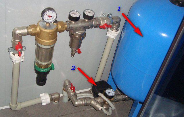 Оптимальное решение - гидроаккумулирующий мембранный резервуар