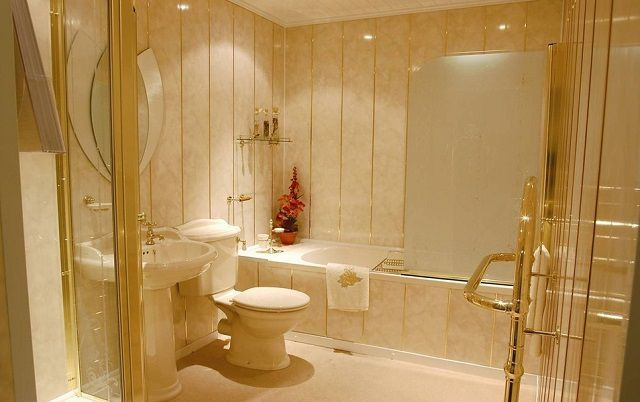 Совершенно особого подхода требует отделка ванной комнаты