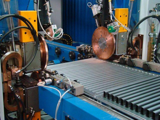 Автоматизированная линия по производству стальных панельных радиаторов