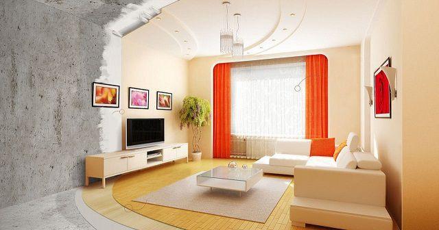 Косметический ремонт обычно ограничивается обновлением отделки помещений