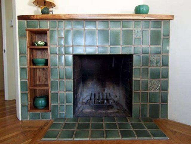 Портал, облицованный керамической плиткой
