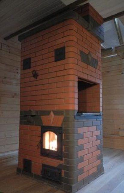 Печка для дачи из кирпича: фото, схемы, инструкция - Всаду. ру 49