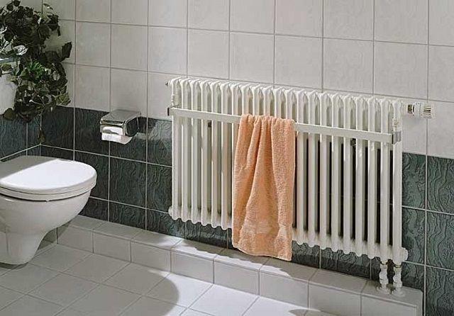 Радиатор с кронштейном для просушки полотенец